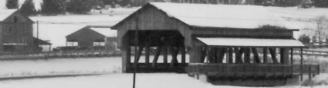 Covered Bridge in Walnut Creek