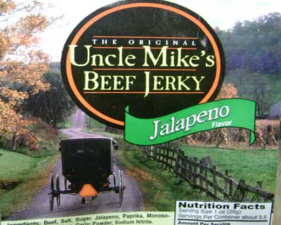 Uncle Mike's Jalapeno Beef Jerky